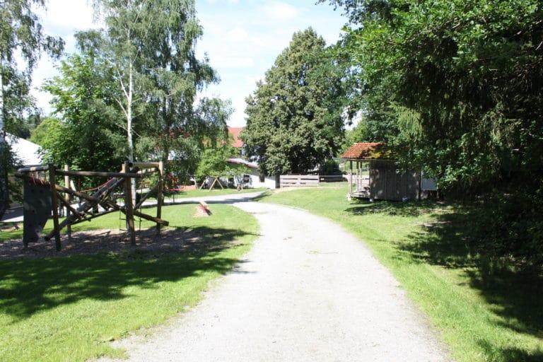 Waldgasthof Hart Freizeitanlage mit Spielplatz